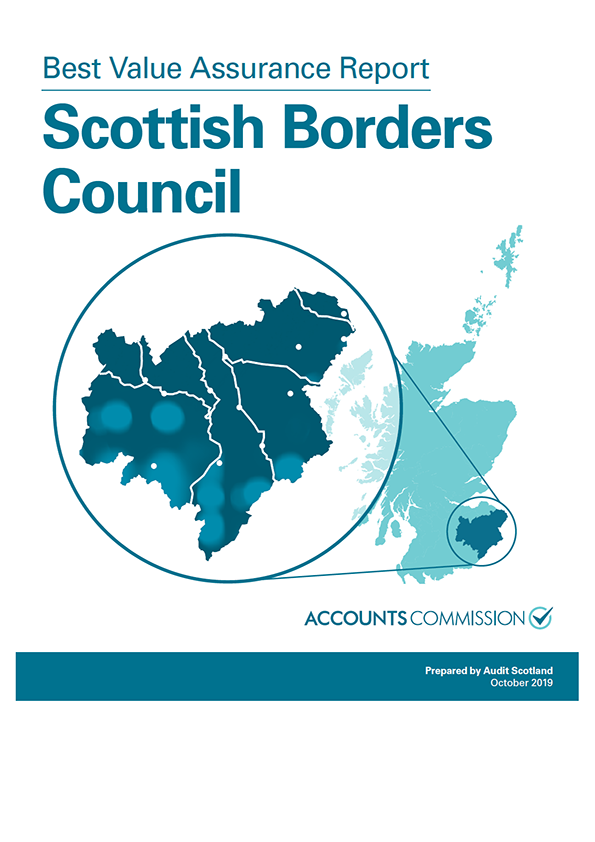 Report cover: Best Value Assurance Report: Scottish Borders Council
