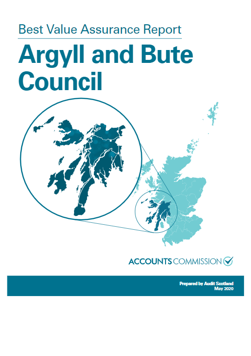 Report cover: Best Value Assurance Report: Argyll and Bute Council