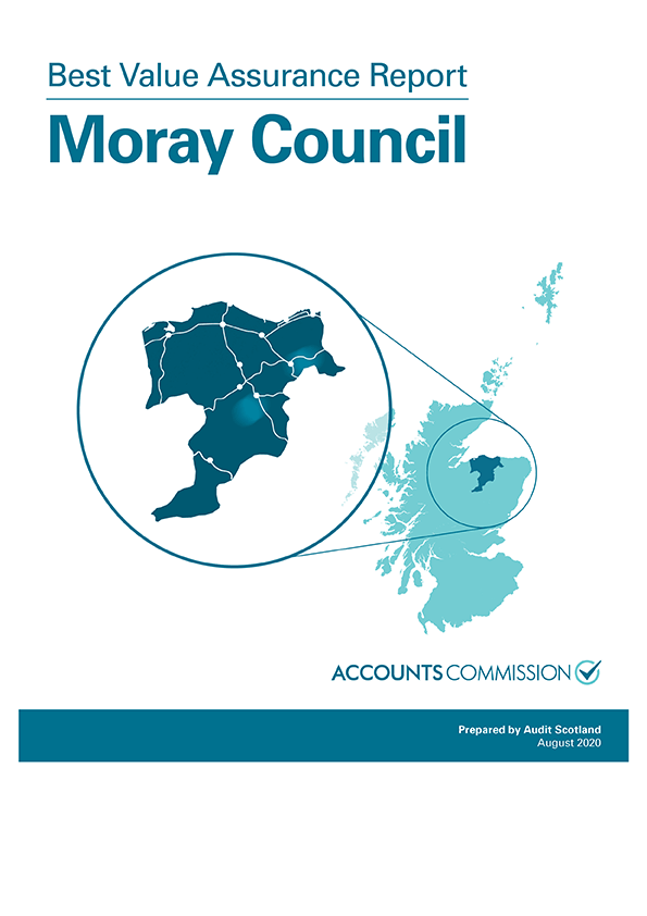 Report cover: Best Value Assurance Report: Moray Council