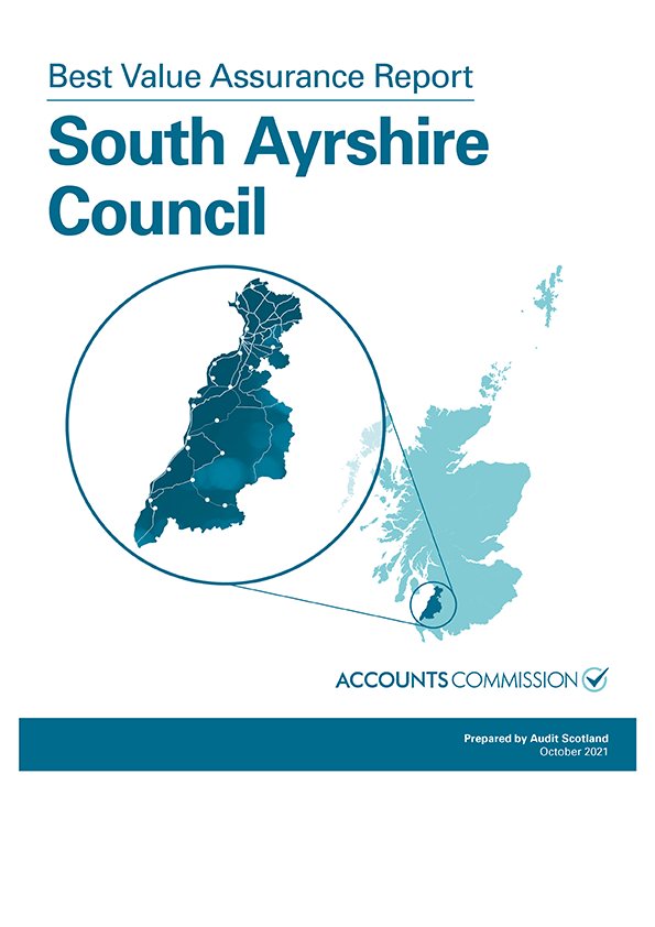 View Best Value Assurance Report: South Ayrshire Council