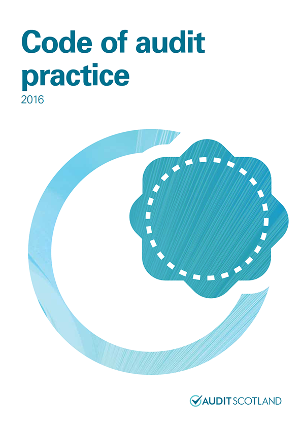 Report cover: Code of audit practice 2016