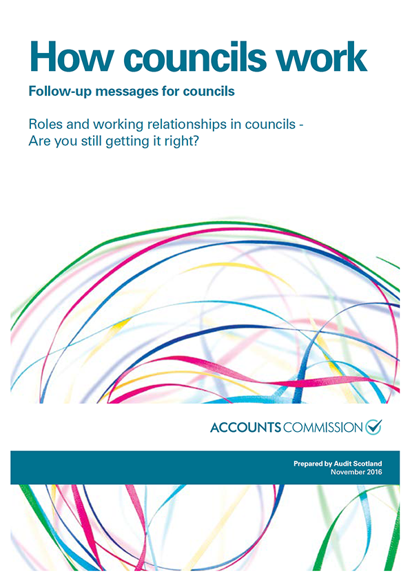View How councils work - Roles and working relationships in councils: are you still getting it right?