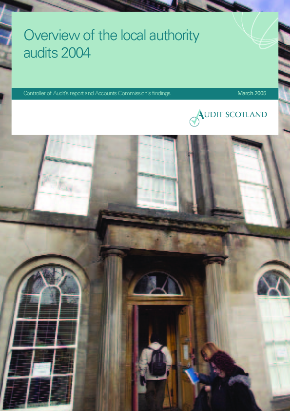 Report cover: Overview of the local authority audits 2004