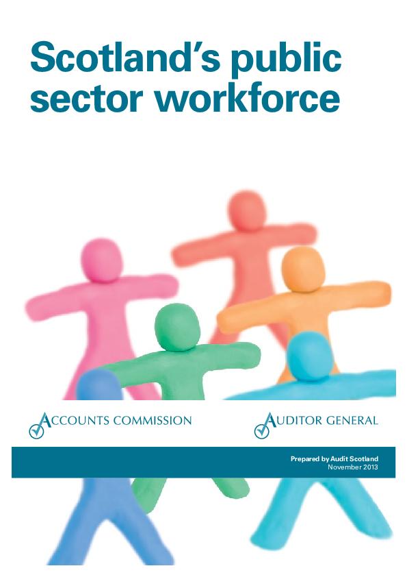 Report cover: Scotland's public sector workforce