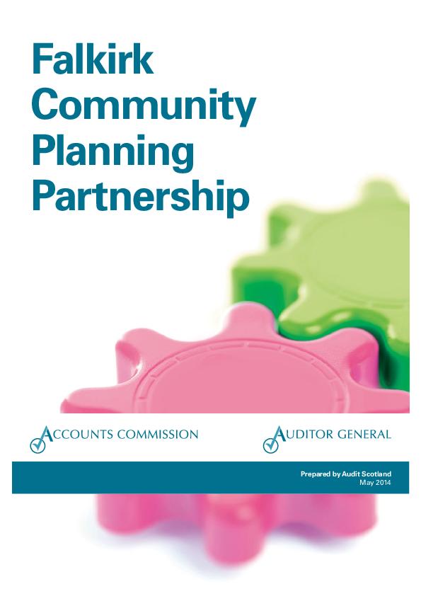 Report cover: Falkirk Community Planning Partnership