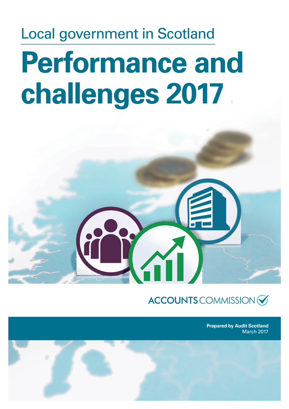 Report cover: Local government in Scotland: Performance and challenges 2017