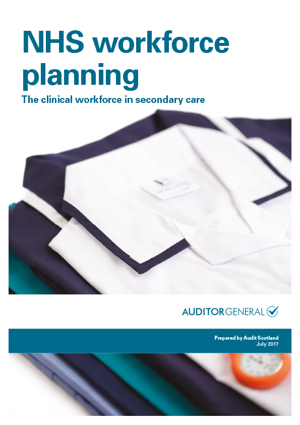 Report cover: NHS workforce planning