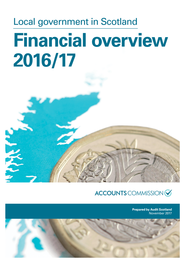 Report cover: Local government in Scotland: Financial overview 2016/17