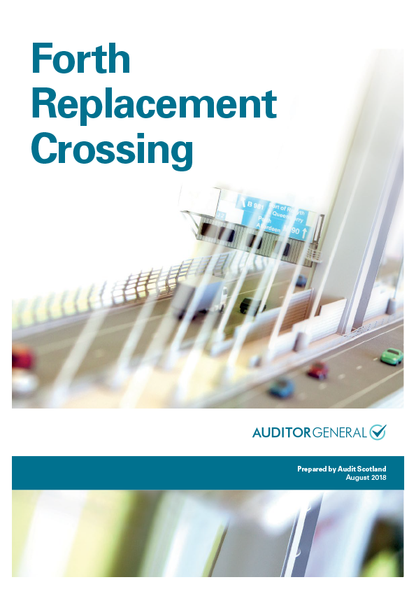 Report cover: Forth Replacement Crossing