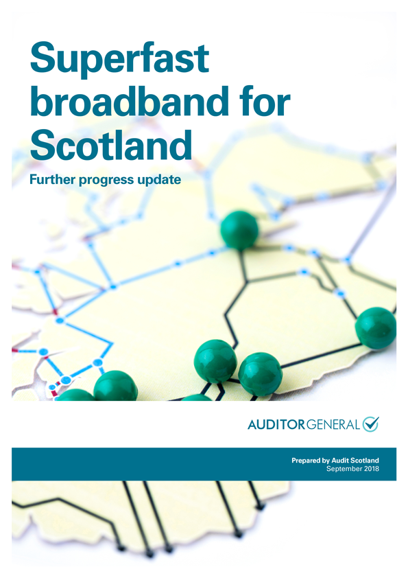 Superfast broadband for Scotland: further progress update