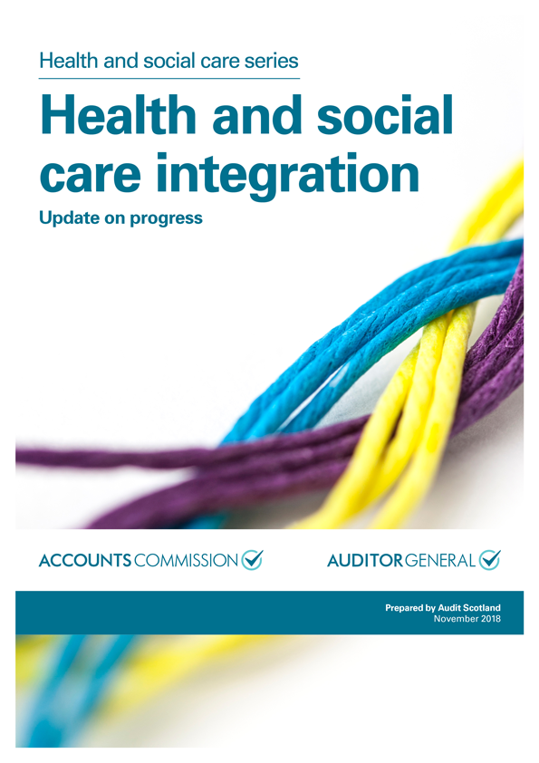 Report cover: Health and social care integration: update on progress