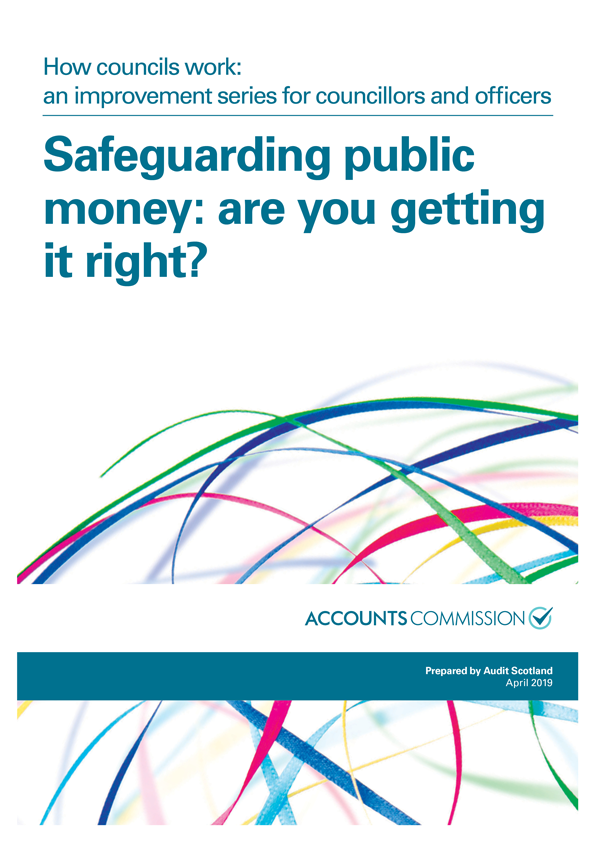 Report cover: How councils work - Safeguarding public money: are you getting it right?