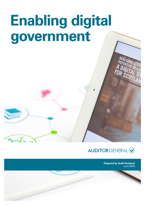 Report cover: Enabling digital government