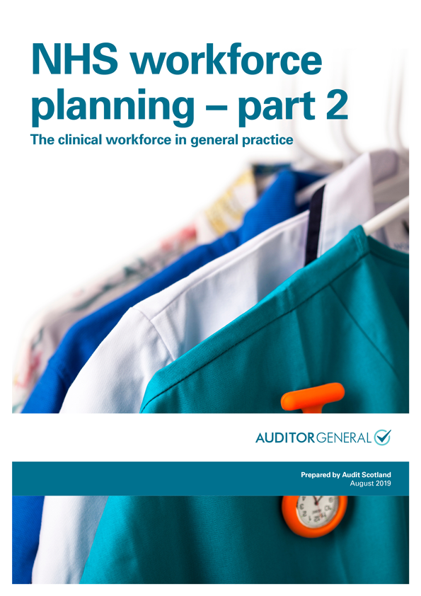 Report cover: NHS workforce planning - part 2