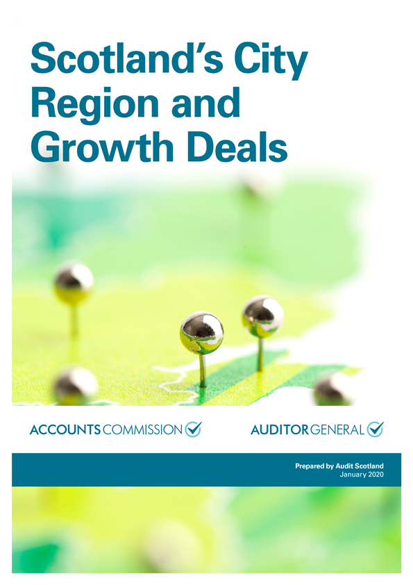 Report cover: Scotland's City Region and Growth Deals