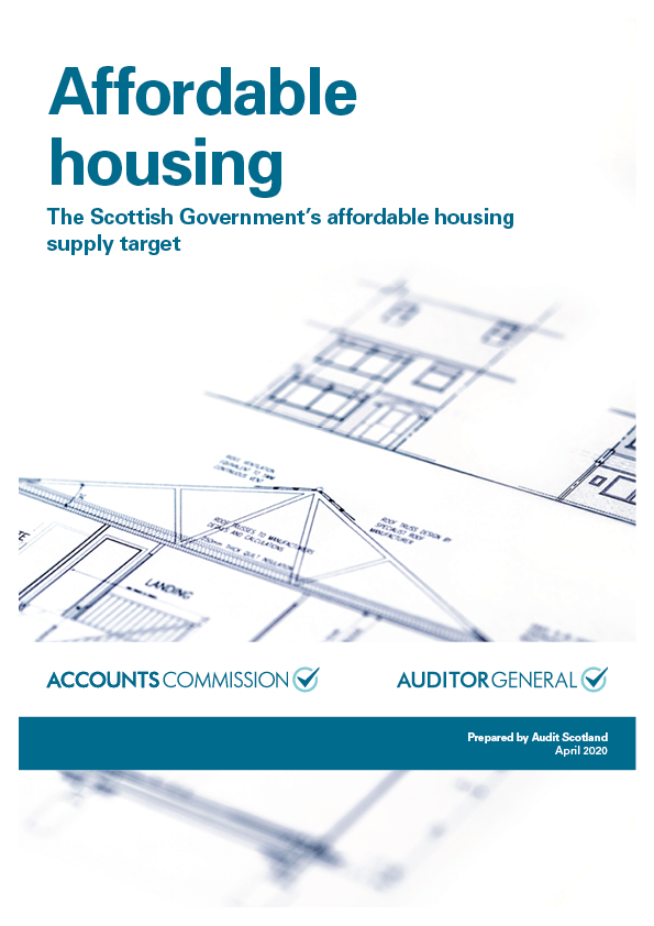 Report cover: Affordable housing