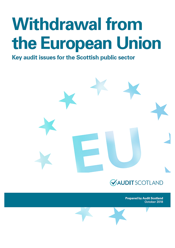 Report cover: Withdrawal from the European Union