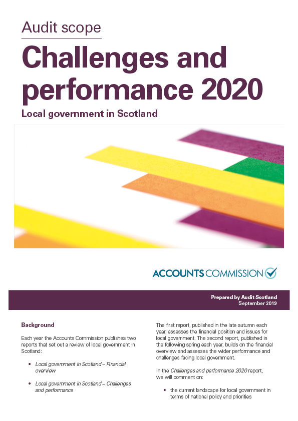 Local government challenges and performance
