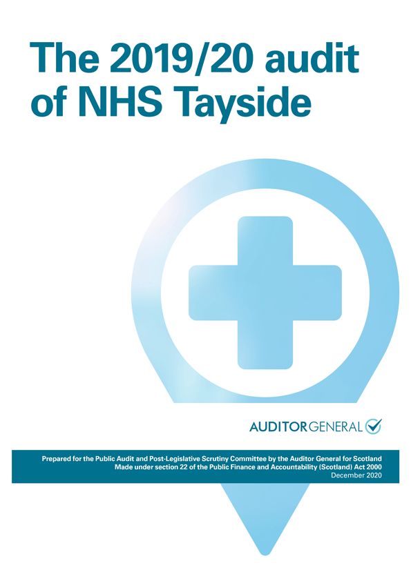 View The 2019/20 audit of NHS Tayside