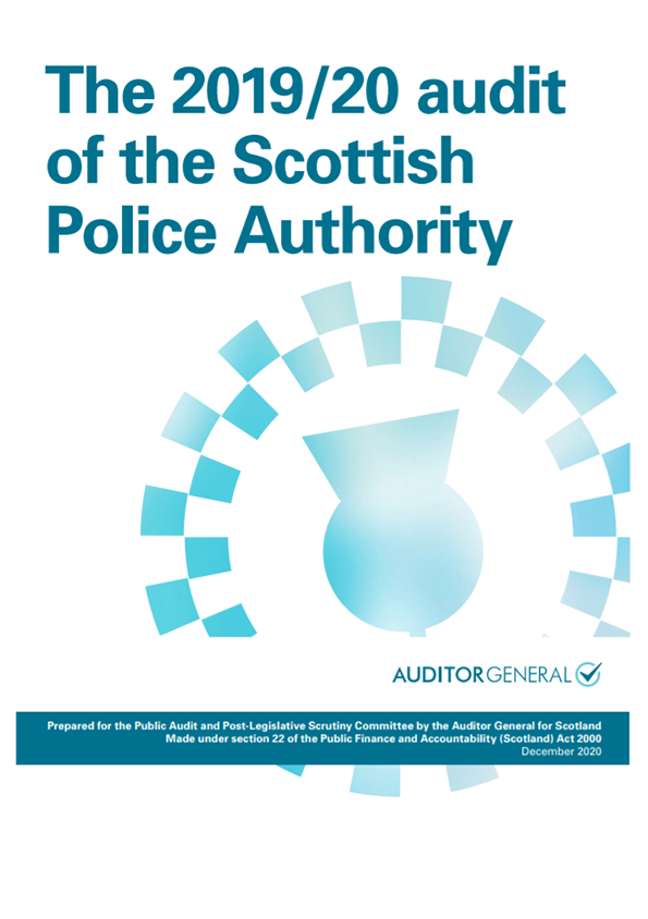 View The 2019/20 audit of the Scottish Police Authority