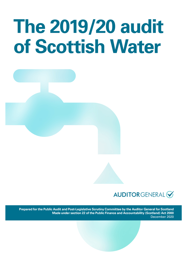 View The 2019/20 audit of Scottish Water