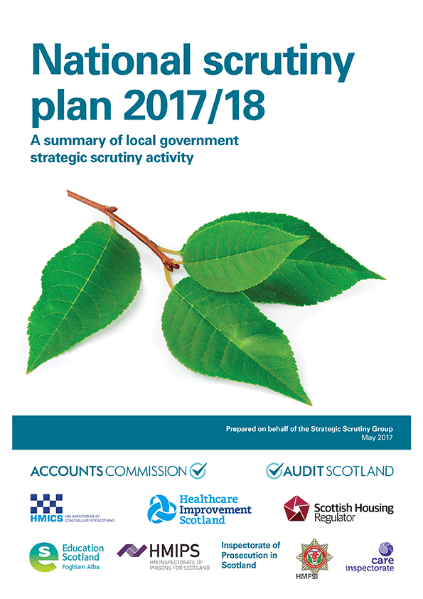 View  National Scrutiny Plan for Local Government 2017/18