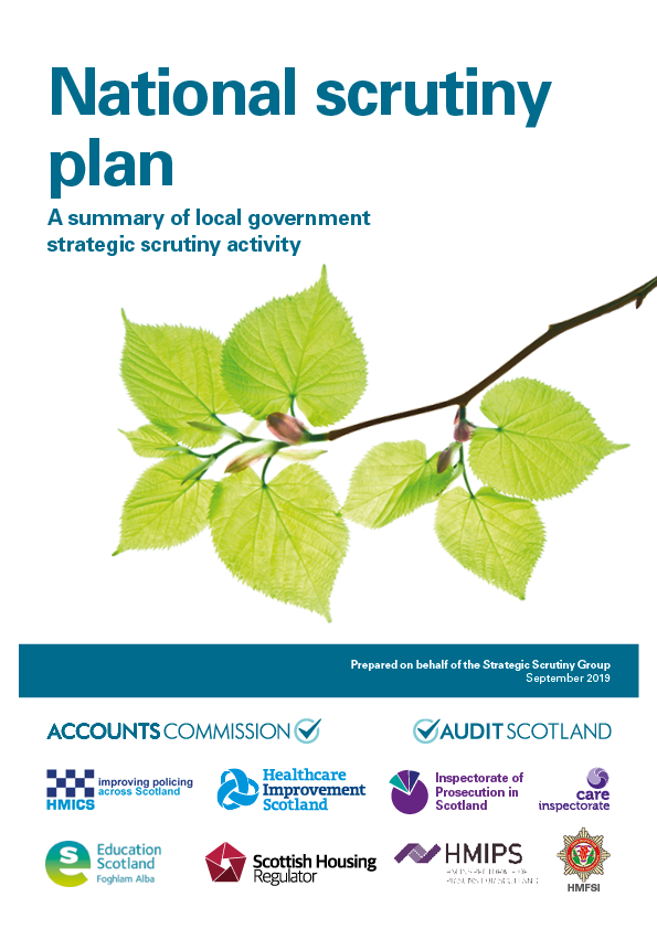 View National Scrutiny Plan for Local Government 2019/20