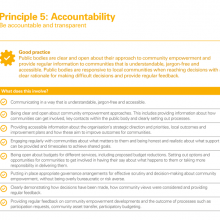 Principle 5: Accountability