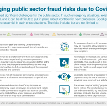 Emerging public sector fraud risks due to Covid-19