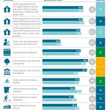 Performance against LGBF satisfaction indicators