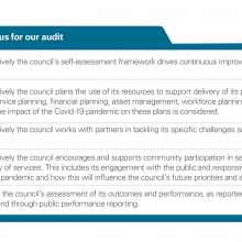 Exhibit 2: Key areas of focus for our audit