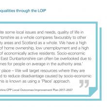 Exhibit 5: Addressing inequalities through the LOIP