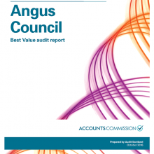 Angus Council: Best Value audit report