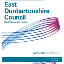 East Dunbartonshire Council Best Value audit report