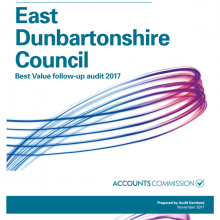 East Dunbartonshire Council Best Value follow-up audit 2017