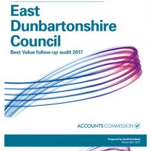 East Dunbartonshire Council Best Value follow-up audit 2017