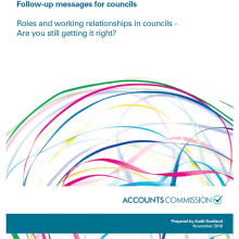 How councils work - Roles and working relationships in councils: are you still getting it right?