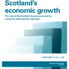 Supporting Scotland's economic growth: The role of the Scottish Government and its economic development agencies