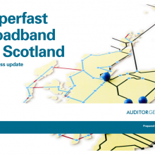 Superfast broadband for Scotland: a progress update