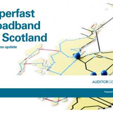 Superfast broadband for Scotland: a progress update