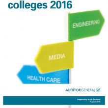 Scotland's colleges 2016