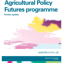 Common Agricultural Policy Futures programme: further update