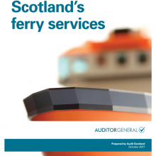 Transport Scotland's ferry services