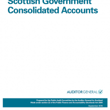 The 2015/16 audit of the Scottish Government Consolidated Accounts