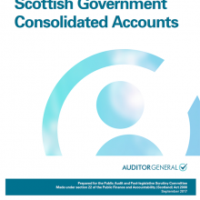 The 2016/17 audit of the Scottish Government Consolidated Accounts