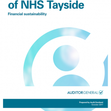The 2016/17 audit of NHS Tayside: Financial sustainability