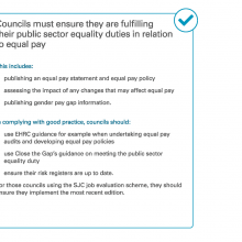 Councils must ensure they are fulfilling their equality duties