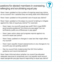 Questions for elected members