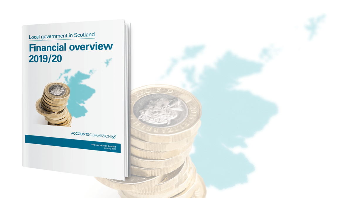 Local government in Scotland: Financial overview 2019/20 report cover