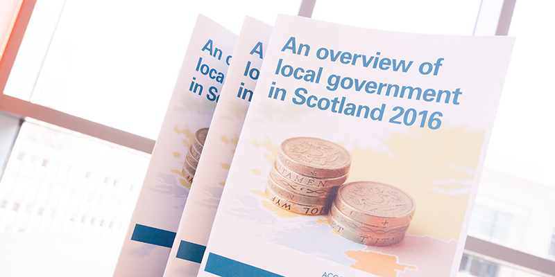Local government overview report